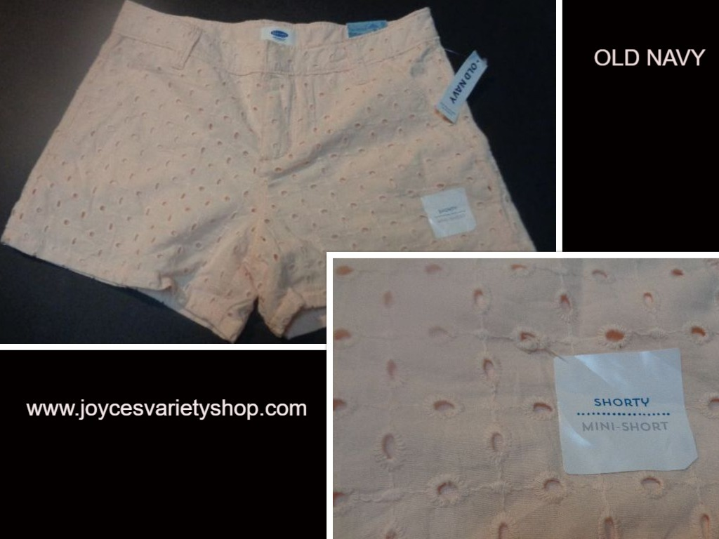 Old navy pink mini shorts web collage
