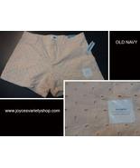 Old Navy Pink Eyelet Shorty Mini-Shorts SZ 14 Regular - $13.99