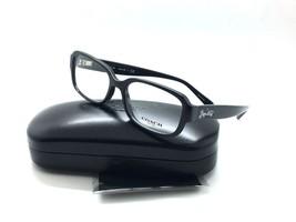 Coach Mujer Negro Gafas HC 6105 5420 Gunnmetal Sig C 51 Plástico - $99.96