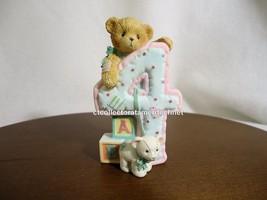 Cherished Teddies Teddies To Cherish Number Age 4  2004 NEW - $28.66