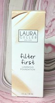 Laura Geller Makeup Filter First Luminous Foundation 1 oz - Fawn - New i... - $14.84