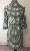 Express Dress Button Down Sz 5/6 3/4 Collared Belted 3/4 Sleeve Career image 4