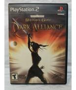 Sony PlayStation 2 PS2 Baldur's Gate Dark Alliance Black Label Manual VG... - $29.99