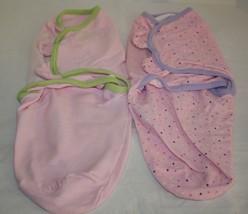 Summer Infant SWADDLE ME S/M Baby Sleep Sack PINK Bunting Bag 7-14 Pound... - $14.48