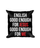 Language lover gifts - Square Pillow Case w/ stuffing - $23.00