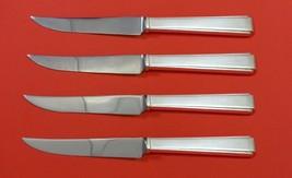 "Modern Classic by Lunt Sterling Silver Steak Knife Set 4pc HHWS  Custom 8 1/2"" - $247.10"