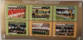 Copa Mundial de Futbol Mexico 1970 Postage Stamps from Yemen - $10.95