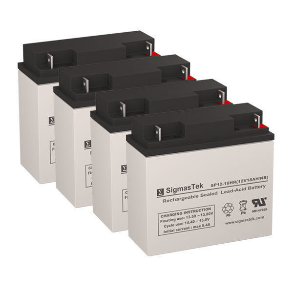 Primary image for APC SU2200RMXLTX155 UPS Battery Set (Replacement) -  Batteries by SigmasTek