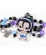 Jinpachi Toudou Acrylic Necklace, Anime Jewelry, Kawaii Jewelry - $27.00