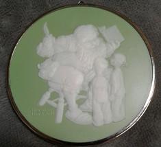 HALLMARK Cameo Ornament Santa's Visitors Norman Rockwell First in Series... - $15.87