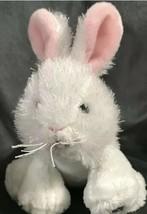 Ganz Webkinz White Rabbit Bunny Plush HM078 Easter Gift B43 - $17.81