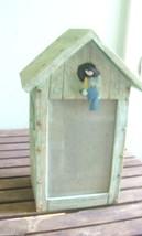 marjolein bastin birdhouse tall heavy photo hol... - $14.85