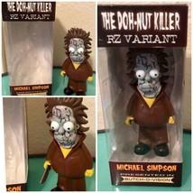 Michael Myers Vinyl Homer Simpson Figure Halloween Butchovision Doh-Nut ... - $42.06