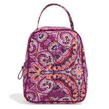 Vera Bradley Quilted Signature Cotton Iconic Lunch Bunch Bag, Dream Tapestry image 2