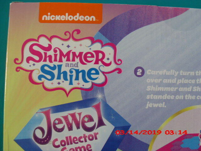 NICKELODEON JEWEL COLLECTOR GAME/ SHIMMER & SHINE ACTION GAME AGE 5+