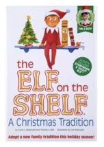 El Elfo On The Estante a Christmas Tradition Azul Ojo Boy Por Chanda Bell Y Caro image 2