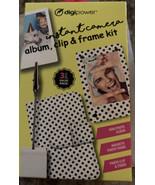 Digipower Mini Instant Camera Album, Clip and Frame Kit (3pcs Value Pack... - $14.54