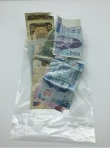 Assorted Mixed Foreign World Paper Note Currency Lot Banknote 8 grams image 1