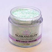 Glam Glits Acrylic Powder 1 oz Key Lime Pie MAT623 - $9.89