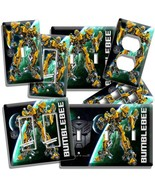 TRANSFORMERS AUTOBOT BUMBLE BEE LIGHT SWITCH OUTLET WALL PLATE COVER ROO... - $8.09+