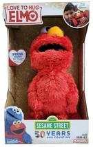 """NEW Sesame Street Love to Hug Elmo Talking Singing Hugging 14"""" Plush Toy - $19.30"""