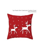 Cotton Linen Merry Christmas Cover Cushion Christmas Decor for Home - 49-68 - $12.99