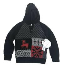 Koala Kids Toddler Boys Long Sleeve Hooded PullOver Sweater Size 3T - $14.84