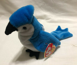 TY BEANIE BABY ROCKET BIRTH DATE 3/12/1997, P.E. STYLE 4202 - NEW OLD ST... - $9.99