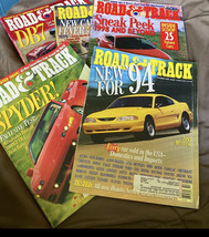7 Issues Vintage road and track magazine - $5.45