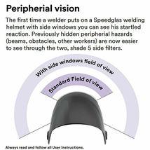 3M Speedglas Welding Helmet 9100XX Extra-Large Size Auto-Darkening Filter image 5