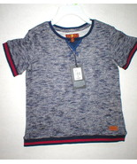 New Girls Boys 7 for all mankind Jeans 4T 4 T Toddler Logo Top Shirt Blu... - $16.00
