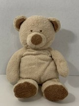 Ty Pluffies tan brown teddy bear plush Love to Baby 2005 no pajamas tylux - $9.89
