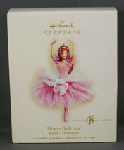 Hallmark Ornament BARBIE FLOWER BALLERINA New in Box 2007 - $19.99