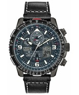 New Citizen Promaster Skyhawk Blue Angels Atomic Leather Strap Watch JY8... - £298.70 GBP