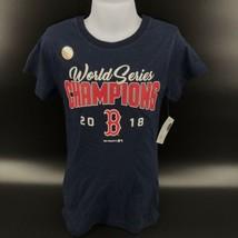MLB Boston Red Sox 2018 World Series Champions Girl's T-Shirt Size S - N... - $9.99