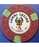 $5 Casino Chip. Lummi, Bellingham, WA. S58. - $6.50