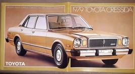 1979 Toyota Cressida 10-page Brochure  - $12.86