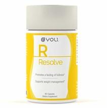 Yoli Resolve - Appetite Suppressant with Glucomannan and Apple Cider Vinegar - $48.25