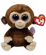"Ty Beanie Boos Coconut The Monkey Buddy Plush With Tags 6"" Stuff Animal... - $14.95"