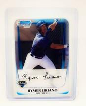 MLB RYMER LIRIANO SAN DIEGO PADRES 2011 BOWMAN CHROME FIRST ROOKIE #BCP1... - $1.79