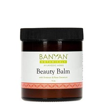 Banyan Botanicals Beauty Balm - USDA Certified Organic, 4 oz - Shatavari & Rose