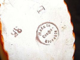 Czechoslovakia Ceramic Basket Decor - AA18-1368-B Vintage image 4