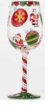 Lolita MINI Holiday Diva Martini Glass Ornament Rare Retired Christmas H... - $25.57