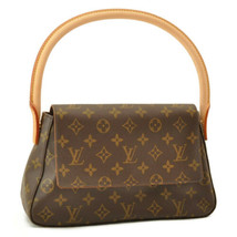 LOUIS VUITTON Monogram Mini Looping Shoulder Bag M51147 LV Auth sa2245 - $960.00