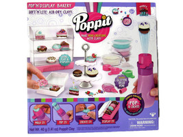 Poppit Pop and Display Bakery Set Clay Craft Activity Kit Includes Poppi... - $24.18