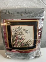 Heritage Collection By Elsa Williams Windswept Pink Tulips Needlepoint Kit - $46.74