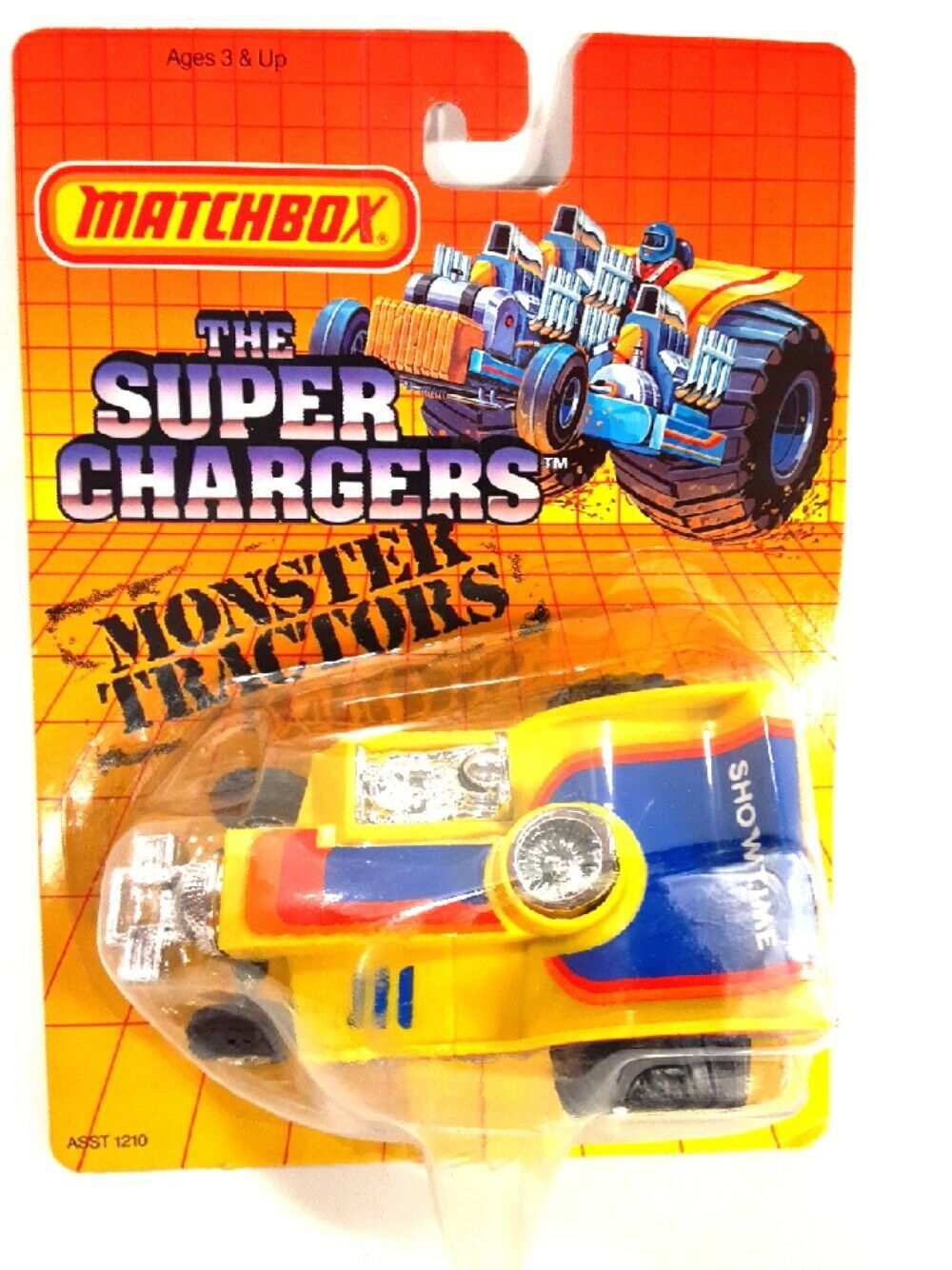 Primary image for 1987 Matchbox Super Chargers Monster Tractors SC24 12 Pack New Factory Sealed
