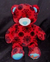 BUILD A BEAR BLUE MARVEL SPIDERMAN RED & BLUE STUFFED ANIMAL PLUSH TOY BABW - $21.46