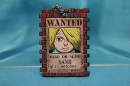 Bandai One Piece Portrait Plate P1 Gashapon Keychain Figure Sanji Black ... - $16.99