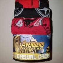 Marvel avengers infinity war mens casual crew sock  5 pairs nwt - $22.00
